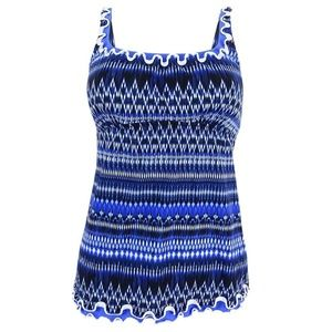 NEW Profile by Gottex Patterned Tankini Swim Top